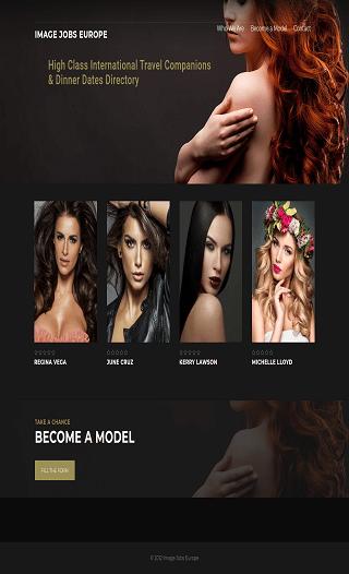 Stránky na kľúč - modelingová agentúra