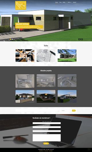 Stránky na kľúč - Architekt